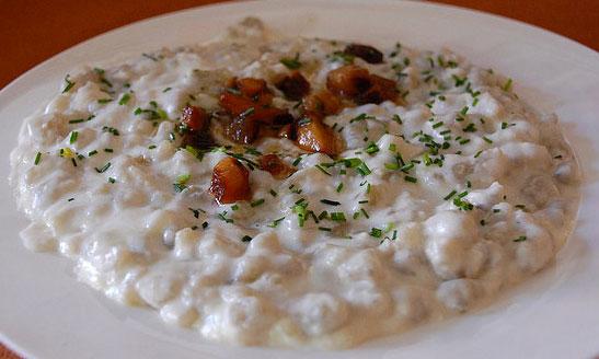 Bryndzove-Halusky Qué comer en Eslovaquia