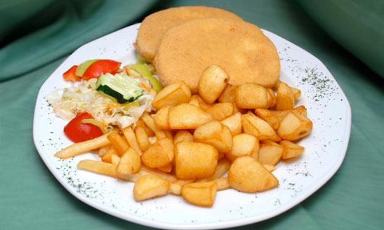Vyprážaný-syr Qué comer en Eslovaquia