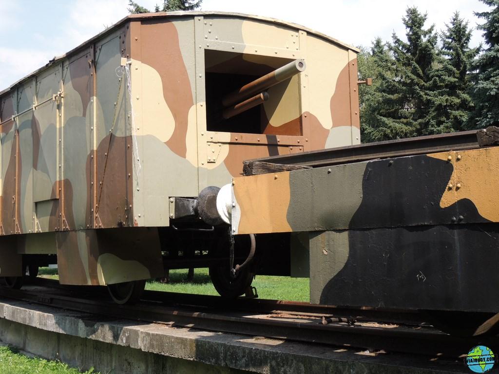 El tren blindado de Zvolen – Eslovaquia