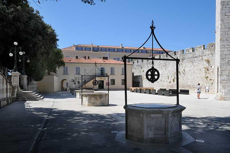 Cinco Pozos - Zadar Qué ver en Zadar