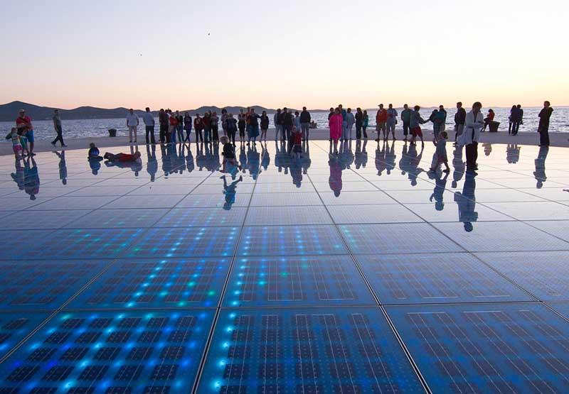 Saludo al sol - Zadar Qué ver en Zadar