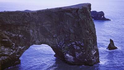 La reserva de Dyrhólaey