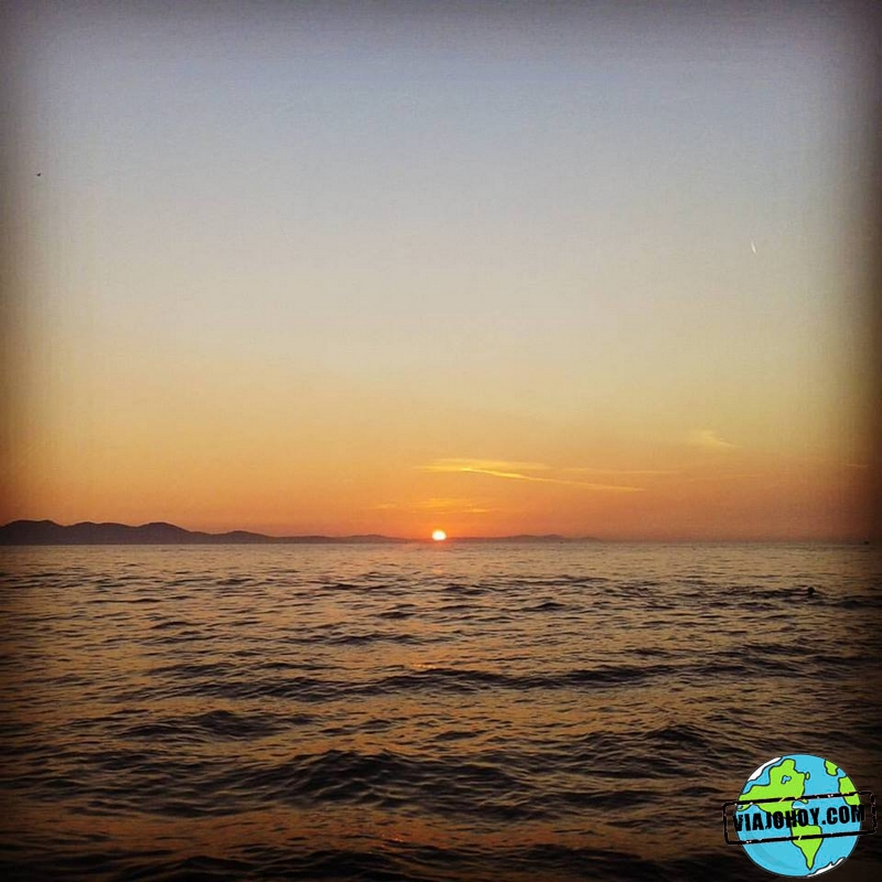 Saludo al sol, Zadar Viaje a Croacia, ruta entre Dubrovnik y Zadar
