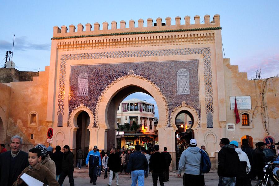 bab-bou-jeloud-puerta Por que deberías visitar Fez – Marruecos