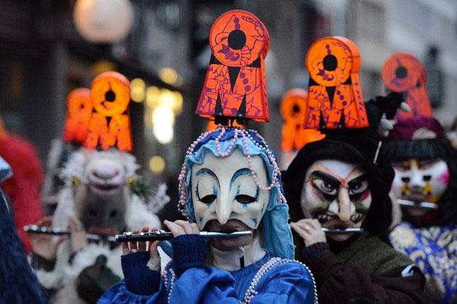basilea-carnaval-viajohoy Carnaval de Fasnacht o el Carnaval de Basilea