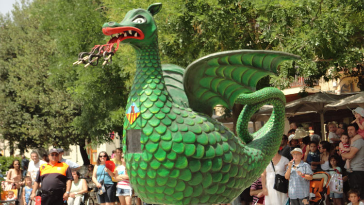 Fiesta en los carnavales de Vilanova i la Geltrú