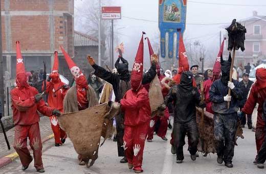vevcani-carnaval-macedonia-viajohoy 8 destinos donde disfrutar las fiestas de carnaval
