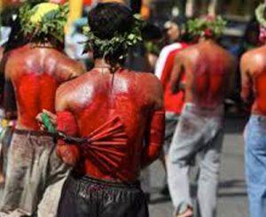semana-santa-filipinas Sangriento festejo de semana santa en Filipinas