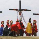 Sangriento festejo de semana santa en Filipinas