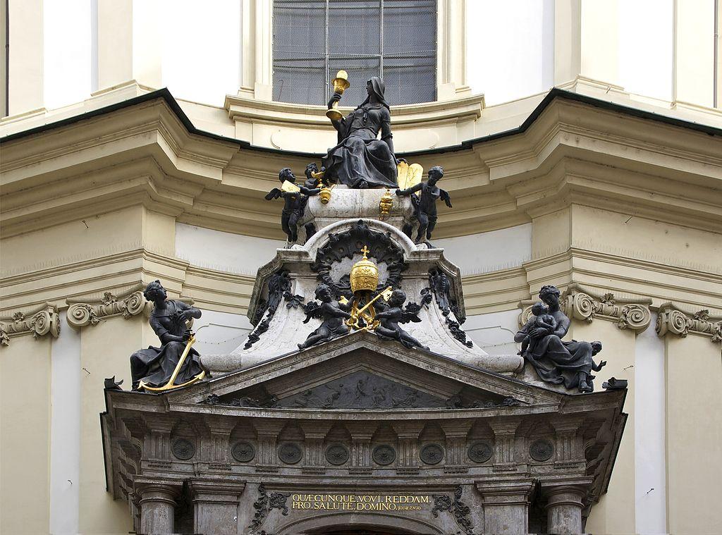 Peterskirche 2 Peterskirche: la iglesia barroca