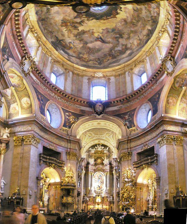 Peterskirche 3 Peterskirche: la iglesia barroca