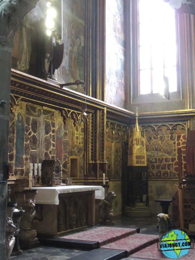 Capilla de San Wenceslao Catedral de San Vito – Visita a Praga