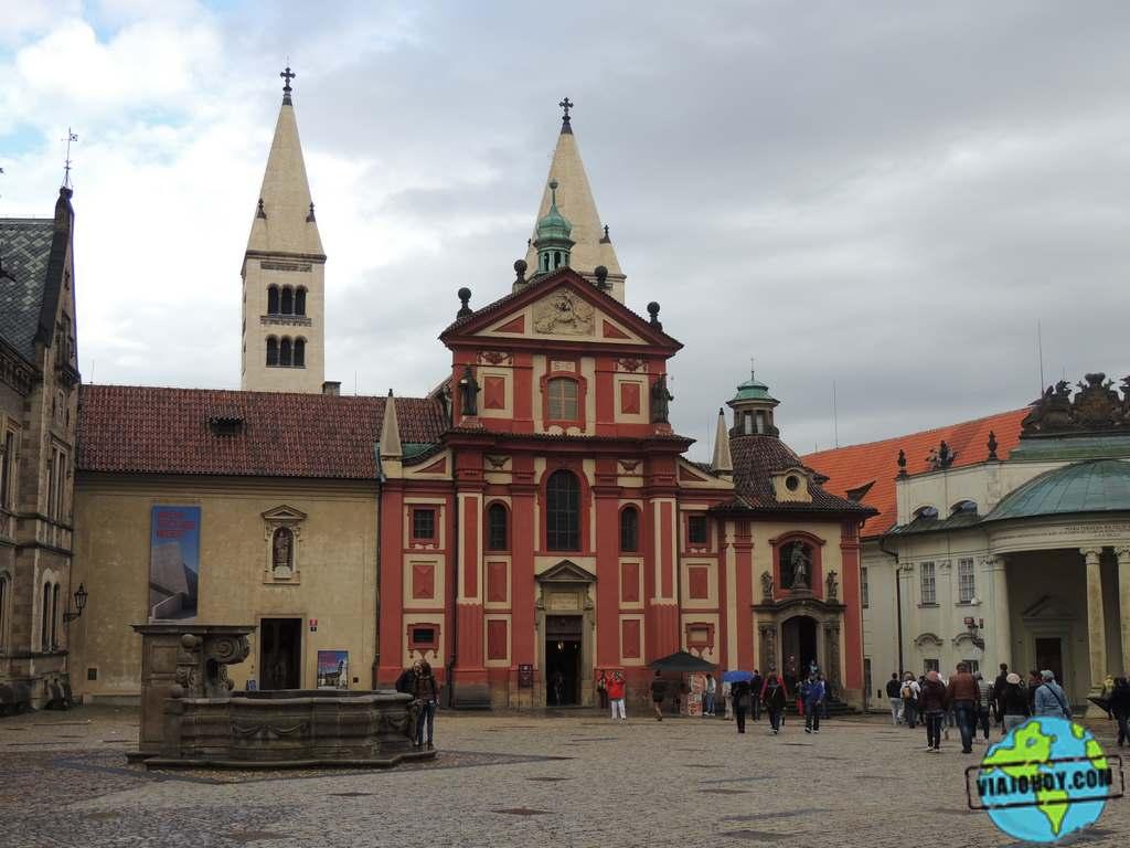 El convento de San Jorge – visita Praga