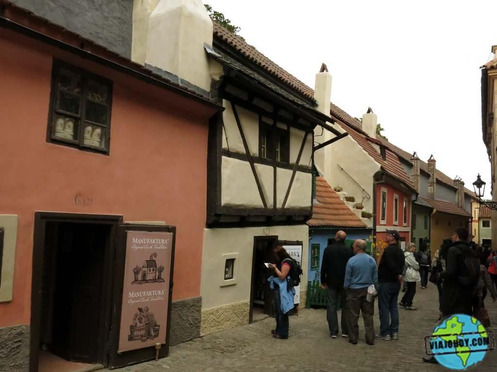 golden-lane(viajohoy)5 El Callejón de Oro – descubre Praga