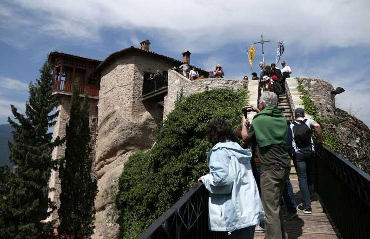 Monasterios-de-Meteora Los imponentes Monasterios de Meteora en Grecia