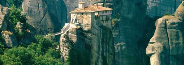 Monasterios-de-Meteora2 Los imponentes Monasterios de Meteora en Grecia