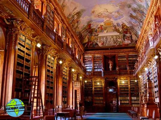 Biblioteca de Strahov El monasterio de Strahov – Disfruta Praga