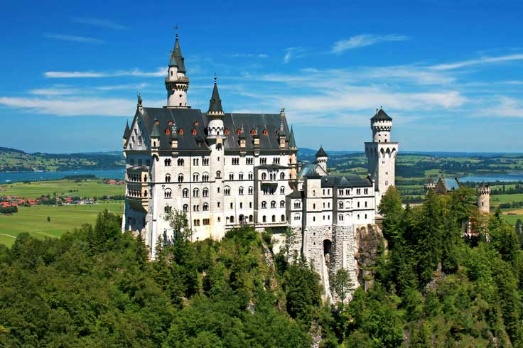 castillo-Neuschwanstein2 ¿Castillos de cuento de hadas? Visita uno