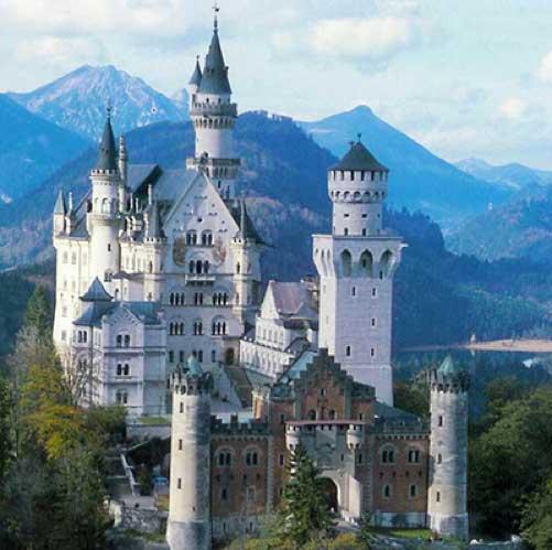 castillo-Neuschwanstein3 ¿Castillos de cuento de hadas? Visita uno