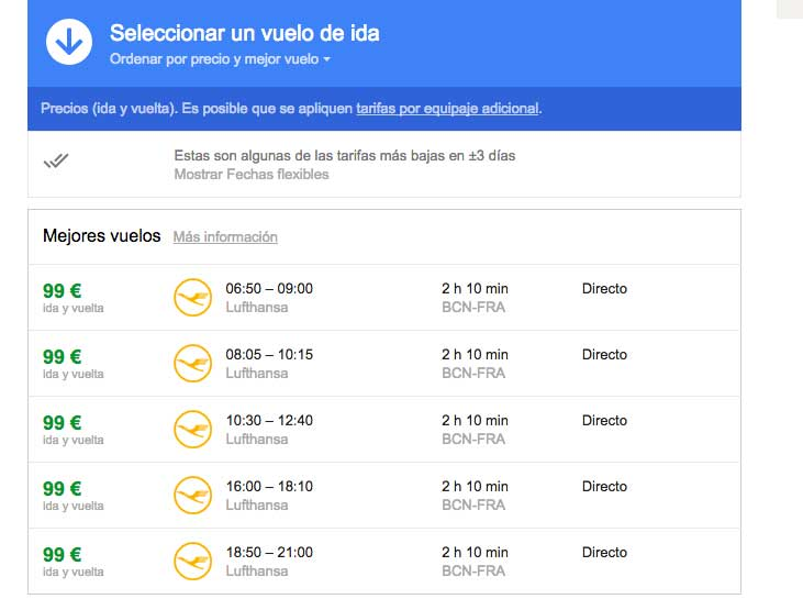 google-flights-step4 Viaja según tu presupuesto con Google Flight