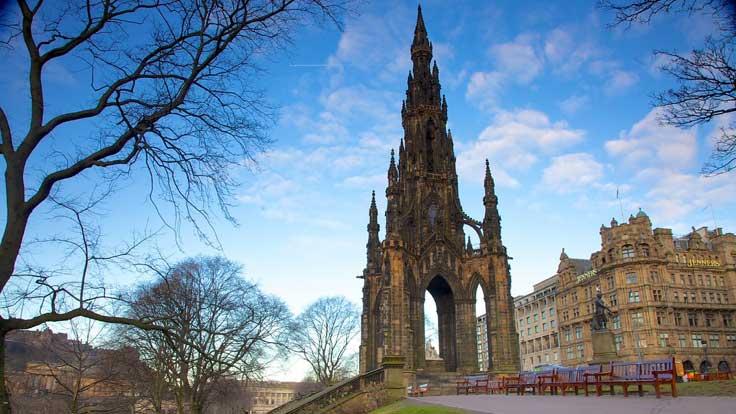 monumento-scot Edimburgo un lugar con mucho por conocer
