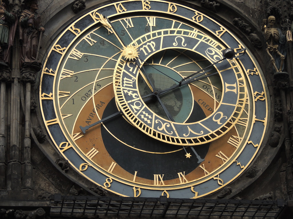 Antiguo ayuntamiento de Praga – Reloj astronómico
