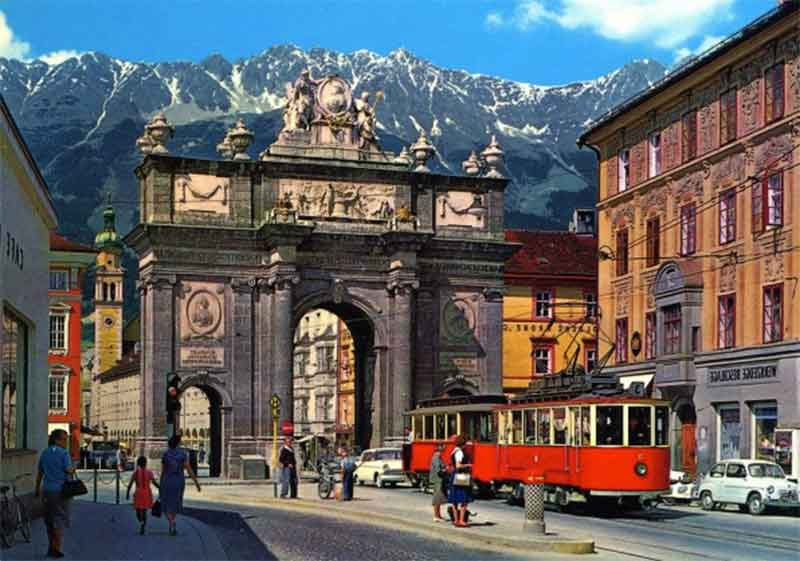 Innsbruck Innsbruck, la belleza helada de Austria
