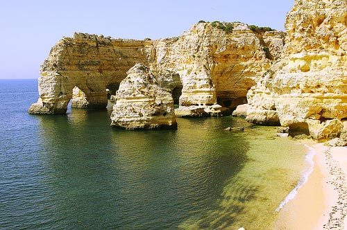 Playa-de-Marinha-visita-portugal