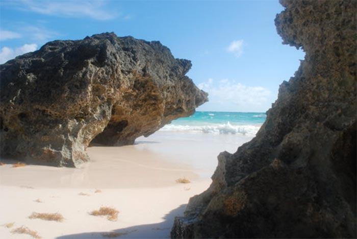 bahía-Horseshoe-islas-bermudas La Bahia de Horseshoe en las Islas  Bermudas