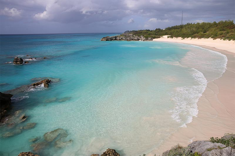 bahía-Horseshoe-islas-bermudas2 La Bahia de Horseshoe en las Islas  Bermudas
