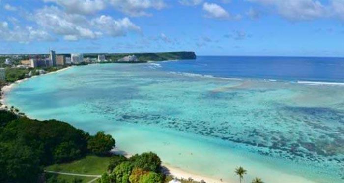 Bahía Tumón en Isla Guam – Paraíso Tropical