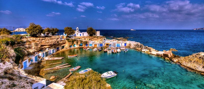 milos-isla-griega 10 Islas griegas no tan conocidas – Visita Grecia