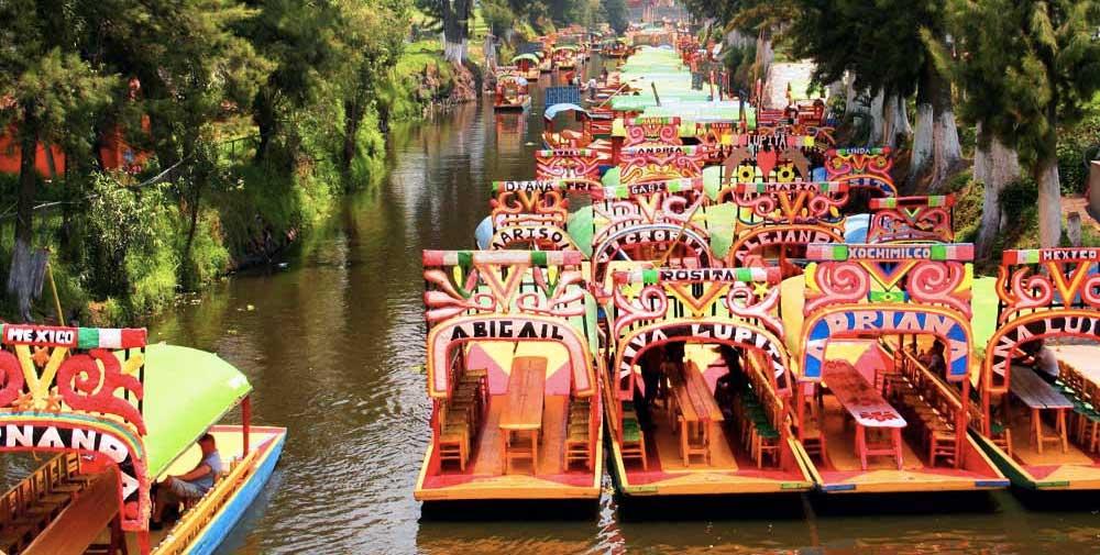 visita-Xochimilco-mexico3 Una Venecia florida – Visita Xochimilco