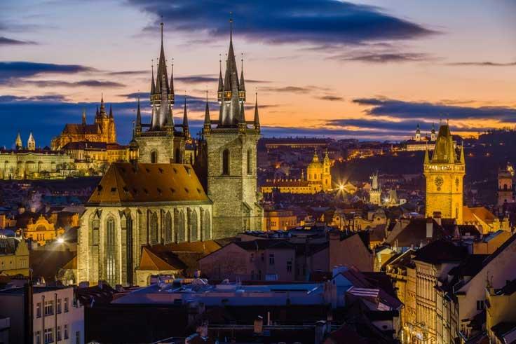 Motivos para visitar Praga