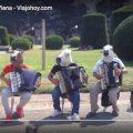 musicos-callejeros-viena Músicos de calle en Viena