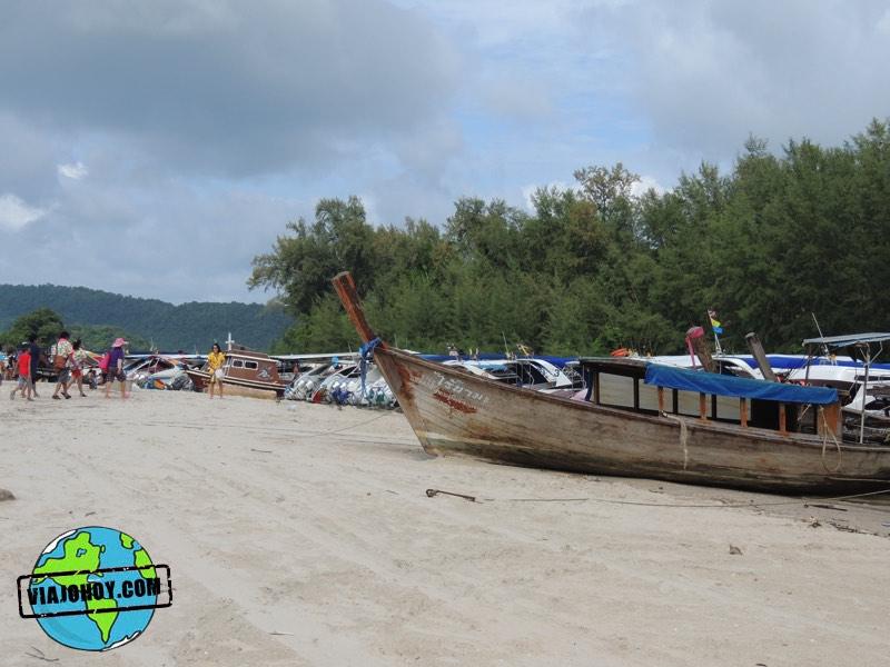 Partida a excursiones en Ao Nang - Krabi Visita Ao Nang, la playa de Krabi