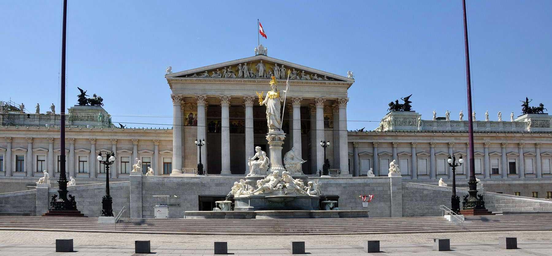 El Parlamento: la Austria griega