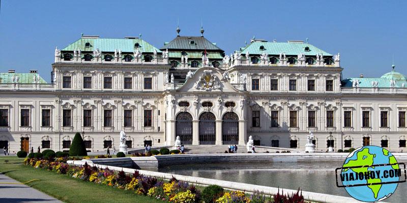 Palacio Belvedere viena Visitar Viena en tres días