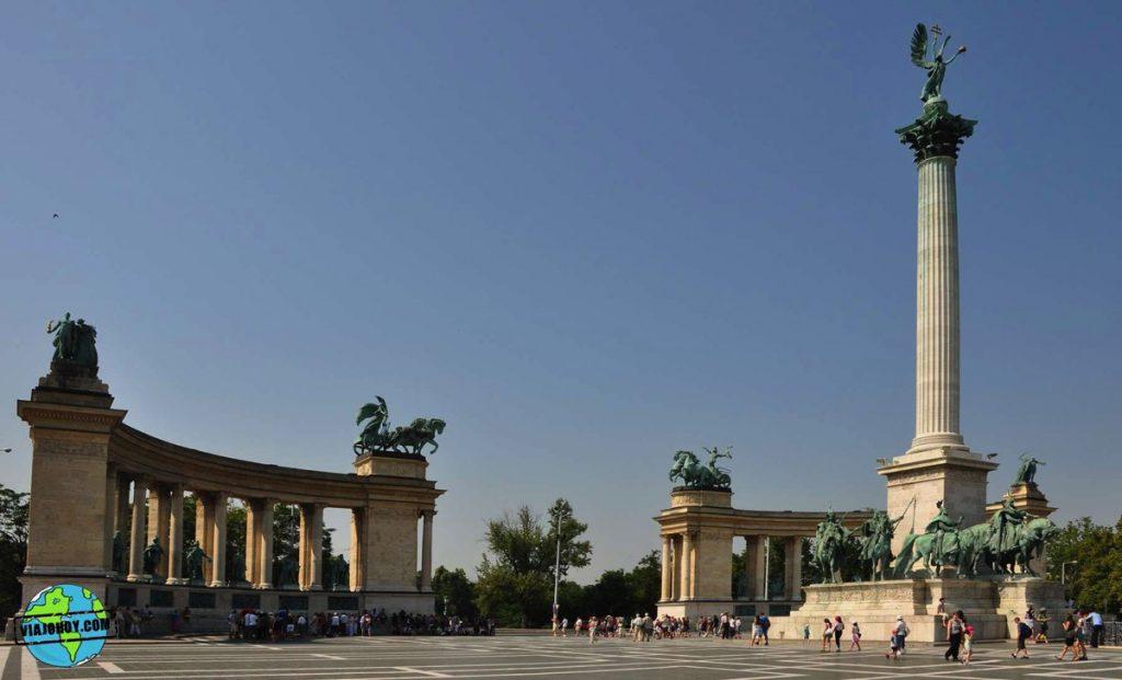 plaza-heroes-budapest-viajohoy-4 La Plaza de los héroes – Visita Budapest
