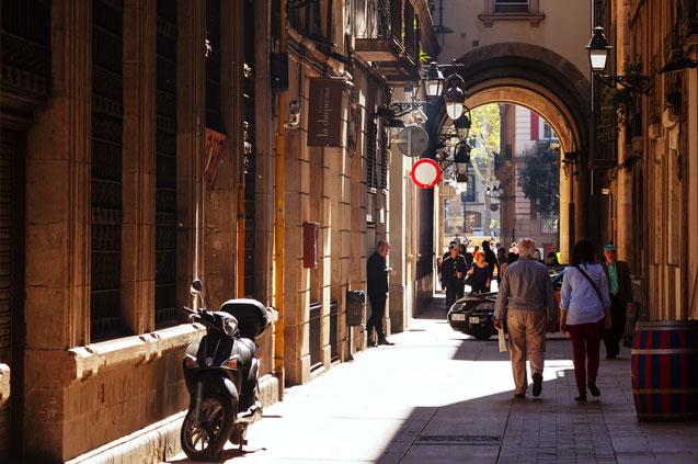 Barrio Gótico Barcelona Lugares especiales para alojarse en Barcelona