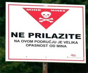 campo-minado Aventura de camino a Bosnia