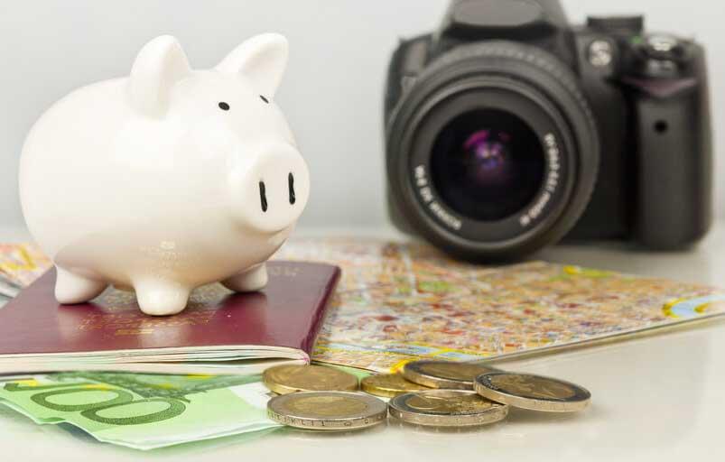 """viajar-poco-dinero Cambiando el """"No tengo dinero para viajar""""."""