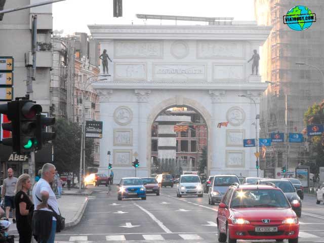 Viaje a Macedonia – Visita a Skopje