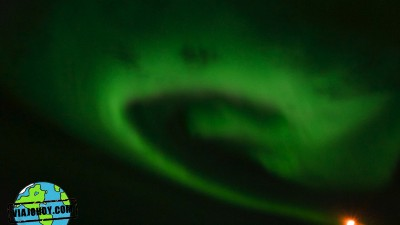 Mágicas auroras boreales en Islandia