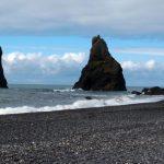Exóticas playas de arena negra en Islandia
