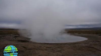 Islandia es tierra de Géiseres